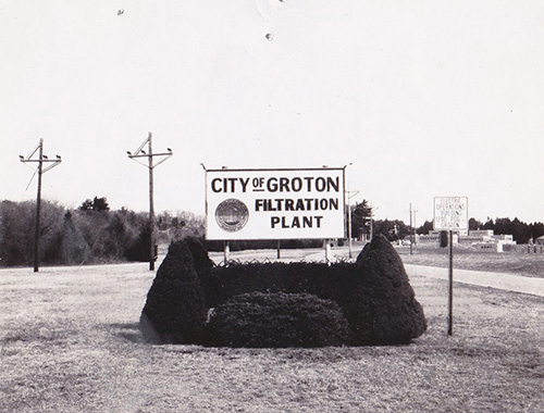 Filteration Plant Sign