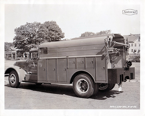 Utility Truck from 1953