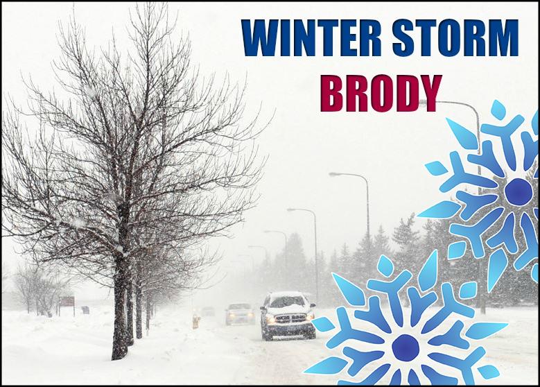 Winter Storm Brody