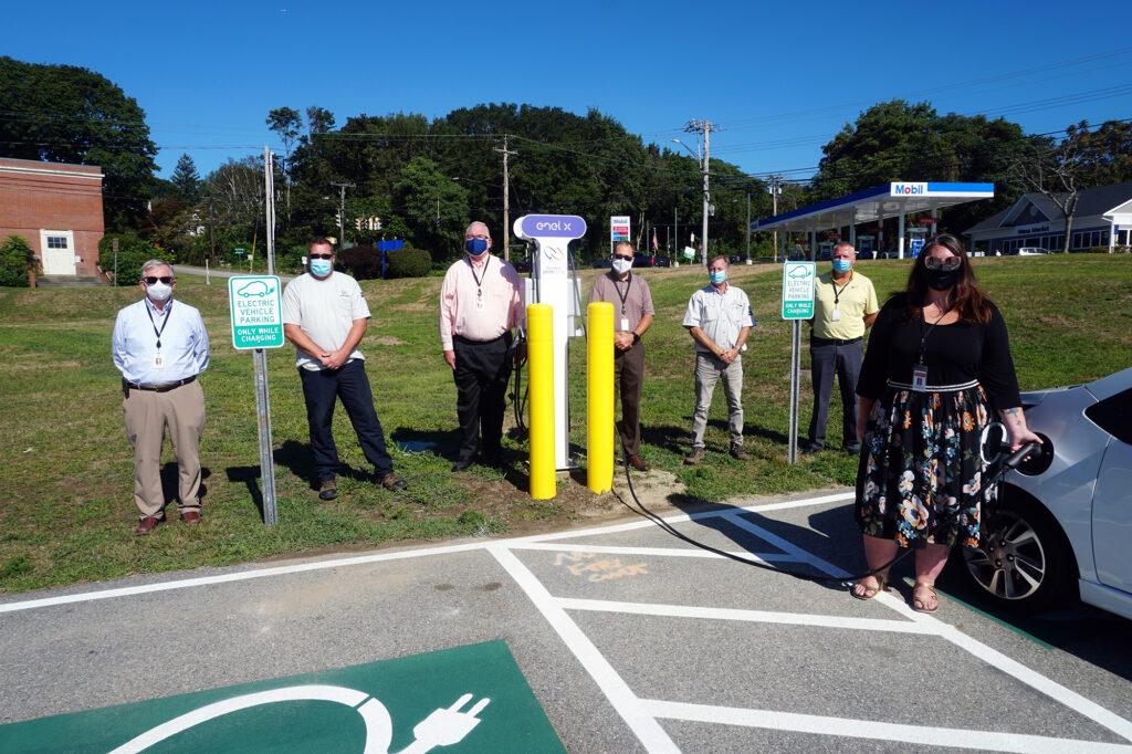 Groton Utilities employees and Mayor