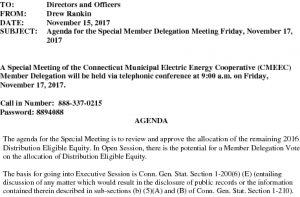 Icon of CMEEC Special Member Delegation Meeting Agenda 11-17-2017