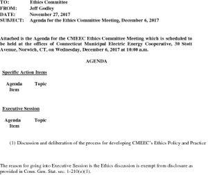 Icon of Ethics Committee 12-06-2017 Agenda