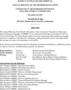Icon of CMEEC Transco MD BOD Meeting Minutes 11-16-2017