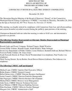 Icon of CMEEC BOD Meeting Minutes 12-20-2018