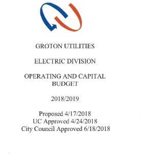 Icon of Electric Division Budget - 2019