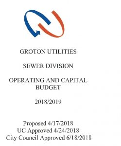 Icon of Sewer Division Budget - 2019