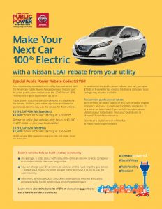 Icon of Nissan Leaf Rebate 2019