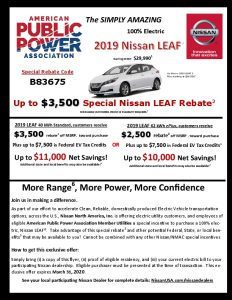 Icon of Nissan Rebate Flyer Jan 9-2020