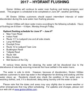 Icon of 2017 Hydrant Flushing Schedule - Week Two