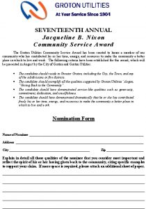 Icon of Community-Service-Award-Application-2020