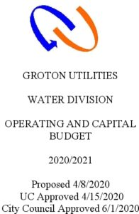 Icon of Water Division Budget 2021