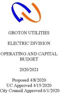 Electric Division Budget 2021