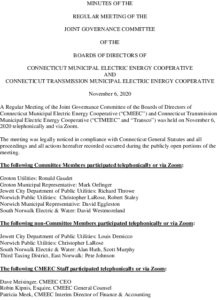 Icon of CMEEC Governance Commitee Meeting Minutes 11-06-2020
