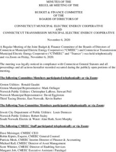 Icon of CMEEC Budget & Finance Commitee Minutes 11-06-2020