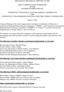 Icon of CMEEC Special Joint Compensation Committee Minutes 03-05-2021