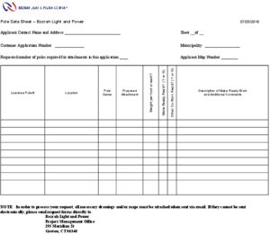 Icon of BLP Pole Data Approval Sheet