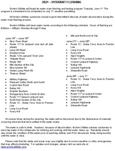 Icon of 2021 Updated June 11 - Hydrant Flushing Schedule