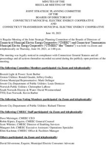 Icon of CMEEC Strategic Planning Committee Minutes 06-10-2021