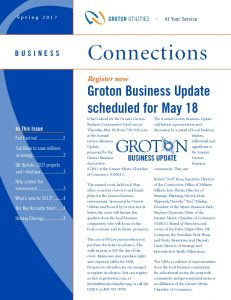 Icon of GU Business  Connections Spring 2017