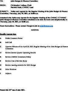Icon of CMEEC Budget & Finance Committee Agenda 07-29-2021