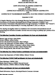 Icon of CMEEC Strategic Planning Committee Minutes F 09-09-2021