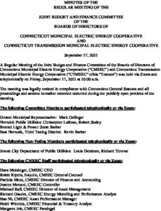 Icon of CMEEC Budget And Finance Committee Minutes 09-17-2021