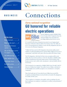 Icon of GU Business Connections Summer 2017