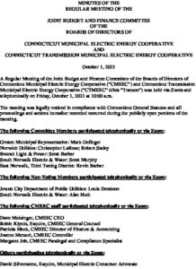 Icon of CMEEC Budget And Finance Committee Minutes 10-01-2021